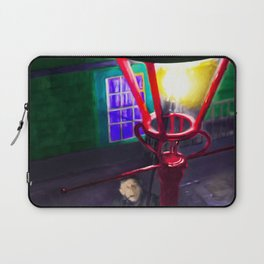 Let There Be Gaslight Laptop Sleeve