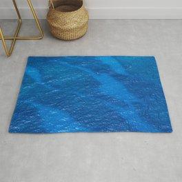 Turquoise Blue Ocean Landscape Rug