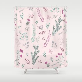 Floreal pattern Shower Curtain