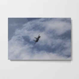 F15 Eagle Aircraft Metal Print