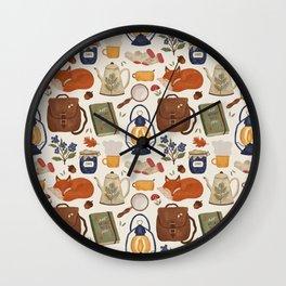 Woodland Wanderings Wall Clock