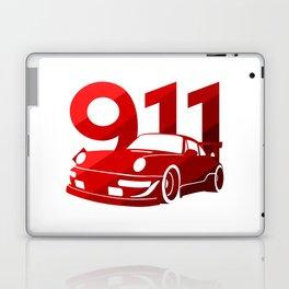 Porsche 911 - classic red - Laptop & iPad Skin