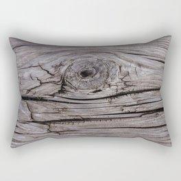 Wood Knot Wood Texture Rectangular Pillow