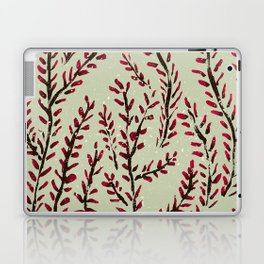 Red bud branches Laptop & iPad Skin