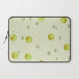 big bubbles - yellows Laptop Sleeve