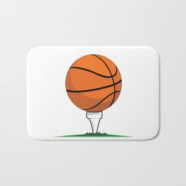 Basketball Tee Bath Mat