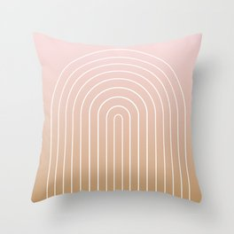 Ombre Arch XIII Throw Pillow