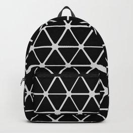 HEX - black & white Backpack