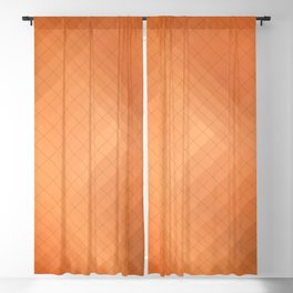 Non-ferrous metals: brass. Abstract gradient art geometric background with soft color tone, cell gri Blackout Curtain