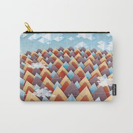 Abstract Adventurous Mountain Art Carry-All Pouch