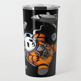 Panda Bear Space Astronaut Cosmic Animal Travel Mug