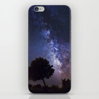 milky way iPhone & iPod Skins featuring Milky Way by FRPhotography