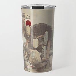 Paper Lantern Maker Travel Mug