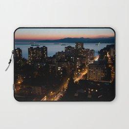 English Bay Sunset Laptop Sleeve