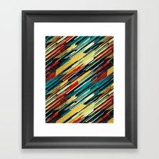 80's Sweater Framed Art Print