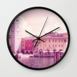 RIVA II - Lake Garda - Italy Wall Clock