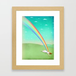 Can you support your dreams? Framed Art Print