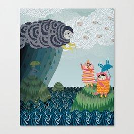 grumpy grumpy Canvas Print