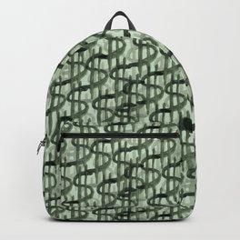 money pattern Backpack
