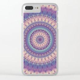 Mandala 517 Clear iPhone Case