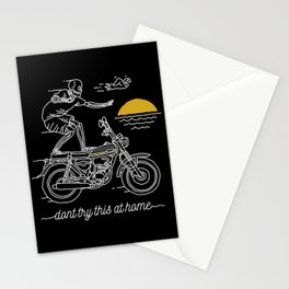 Dont Try This at Home Stationery Cards