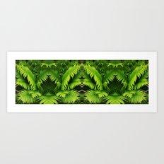 Fern world Art Print