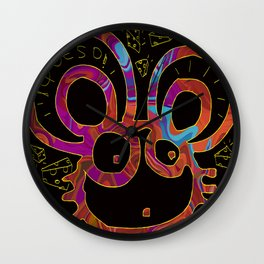 Queso Mouse Wall Clock