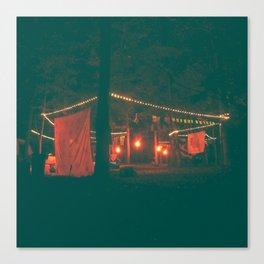 Lady Scout Camp Out & Exhibit Canvas Print
