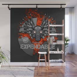 Everyone is EXPENDABLE - PYRO Wall Mural