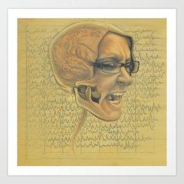 EEG Art Print