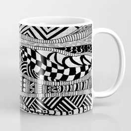 Line Tangle - Zentangle Coffee Mug