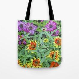 Flower Jamboree Tote Bag