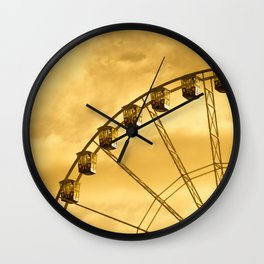 Carnival Is Over Wall Clock