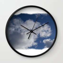Clouds Over Hill Wall Clock