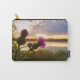 Cirsium vulgare Carry-All Pouch