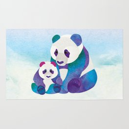 Alfie & Alice the Pandas Rug
