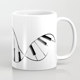 DNA Piano Coffee Mug