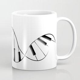 DNA Piano Coffee Mug