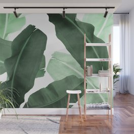 Green Banana Leaf Wall Mural