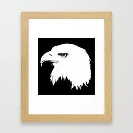 Black- White Eagle (BEŞİKTAŞ) Framed Art Print