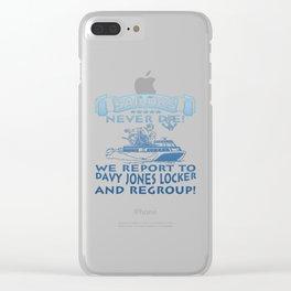 Sailors Clear iPhone Case
