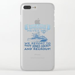 Sailors Clear iPhone Case