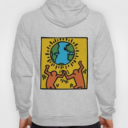 Homage to Keith Haring Hoody