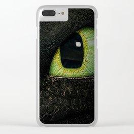 Who's Peeking 2 Clear iPhone Case