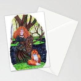 The alder tree sign Stationery Cards