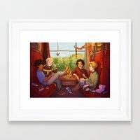 marauders Framed Art Prints featuring Marauders by batcii