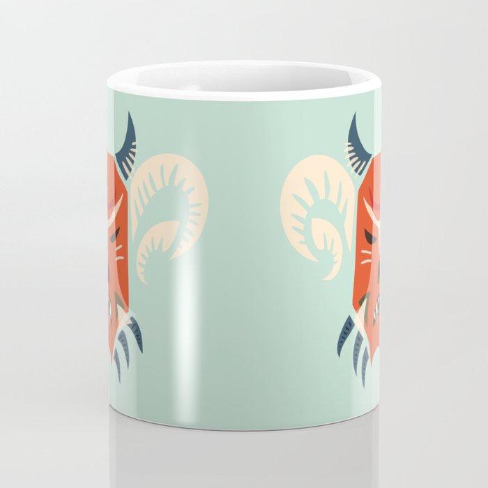 Kuker Evil Monster Mask Coffee Mug