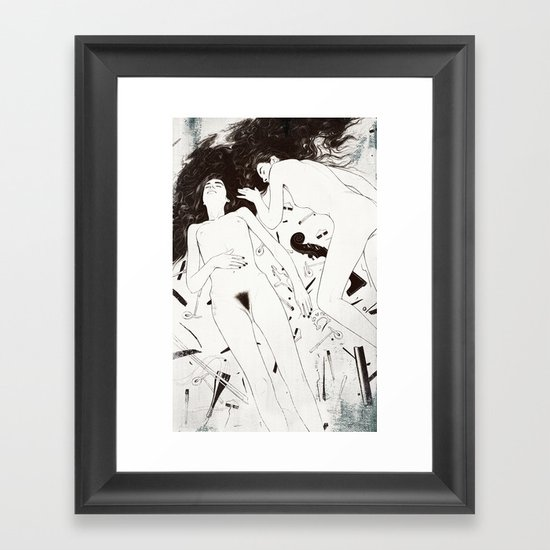 Duet. Pt.4 Framed Art Print