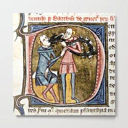 Medieval Dentistry Metal Print