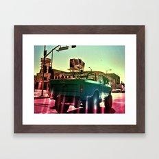 Cahuenga Monster Framed Art Print